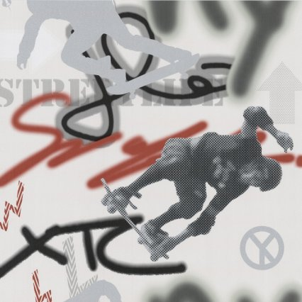 Výprodej - dětské tapety na zeď Graffiti 0570820