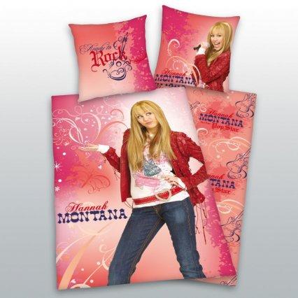 Dětské povlečení Hannah Montana 4