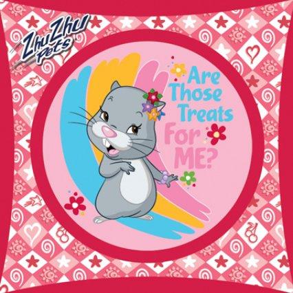 Povlak na dětský polštářek Zhu Zhu Pets - For Me