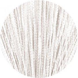 Záclona kusová provázková Iris bílá
