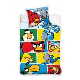Dětské povlečení Angry Birds - Rio