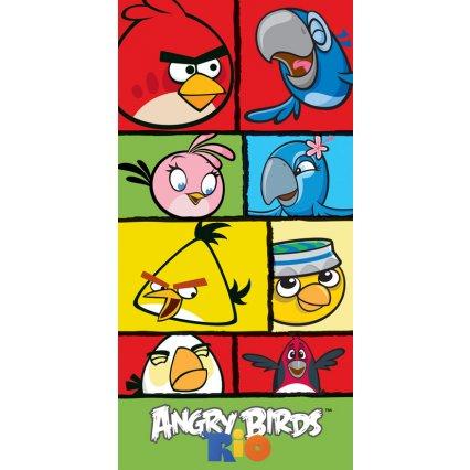 Dětská osuška Angry Birds