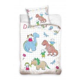 Dětské povlečení Dinos - My friends