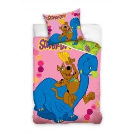 Dětské povlečení Scooby Doo - růžové