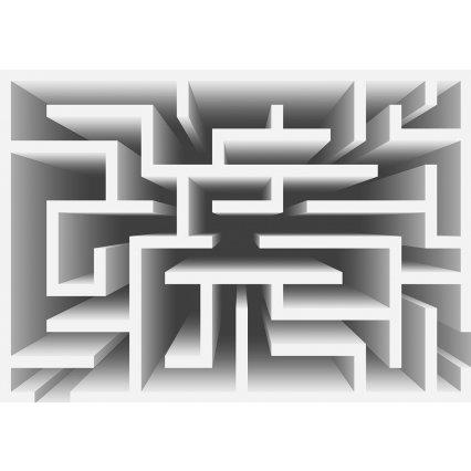 3D Fototapeta Bludiště