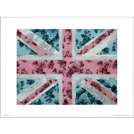 Reprodukce Union Flag Roses