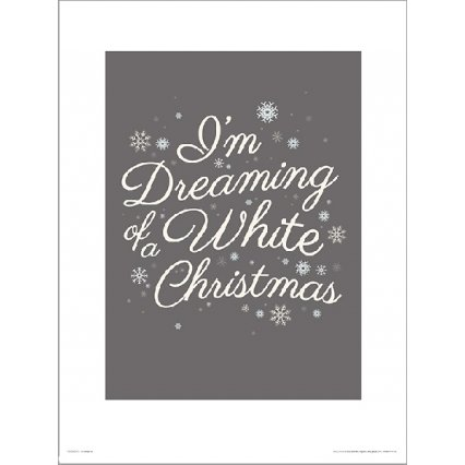 Reprodukce Christmas White
