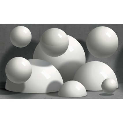 3D Fototapeta Balls