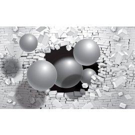 3D Fototapeta Koule ve zdi