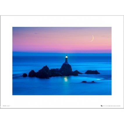 Reprodukce Tom Mackie Lighthouse Night