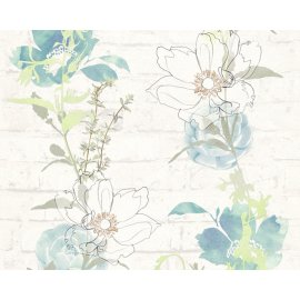 Tapety na zeď Urban Flowers 328001