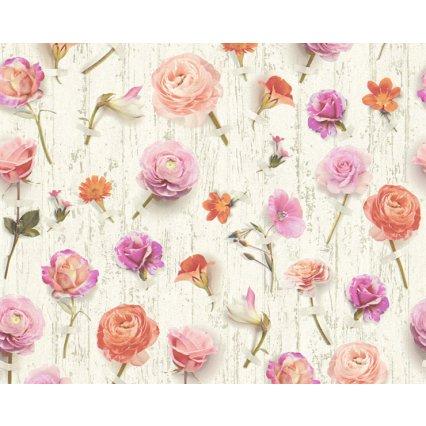 Výprodej - tapety na zeď Urban Flowers 327233