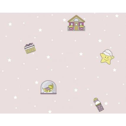 Výprodej - tapety na zeď Sweet Little World 672810