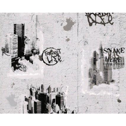 6840-11 Dětské tapety na zeď BOYS AND GIRLS 3 684011