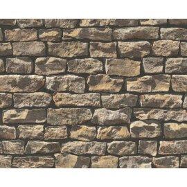 9079-12 tapety na zeď Woodn Stone 907912