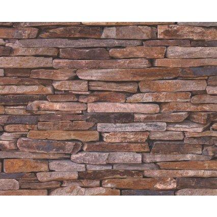 9142-17 tapety na zeď Woodn Stone 914217