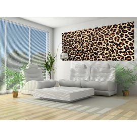 Fototapeta panoramatická vliesová Leopard