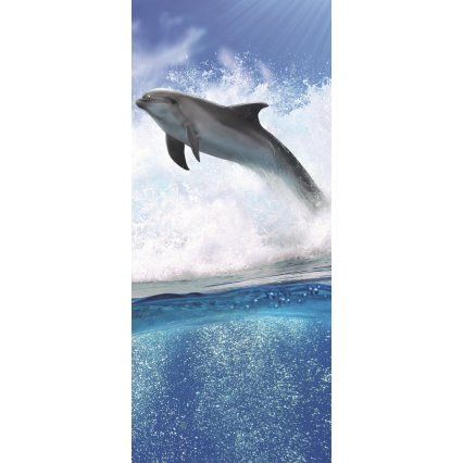 Fototapeta na dveře Delfíni