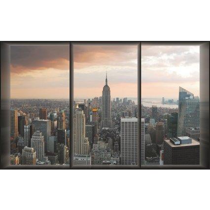 Fototapeta New York - pohled z okna