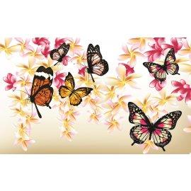 Fototapeta Butterflies on the tree