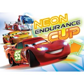 Výprodej - Dětská fototapeta Auta - Neon Endurance