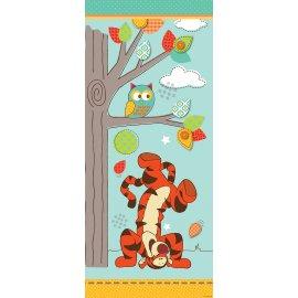 Výprodej - Dětská fototapeta na dveře Medvídek Pú a přátelé