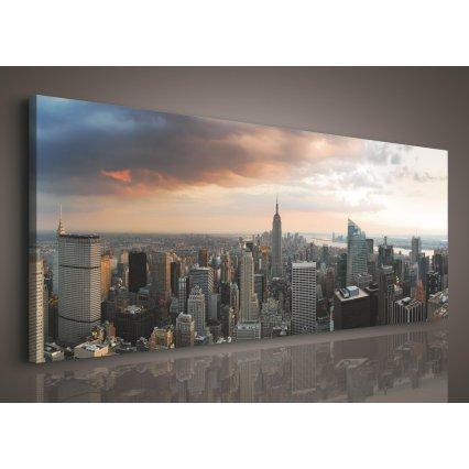 Obraz na plátně New York 145 x 45 cm