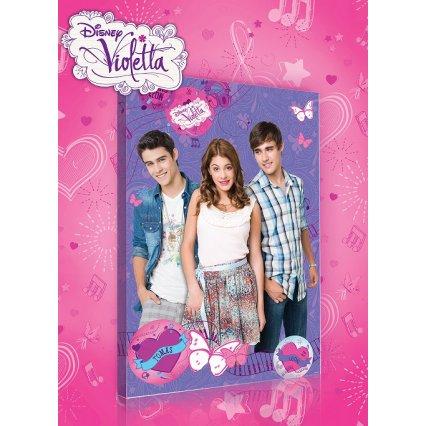 Výprodej - Obraz na plátně dětský Violetta a přátelé 60 x 40 cm